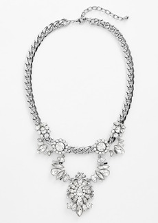 Nordstrom Crystal Bib Necklace