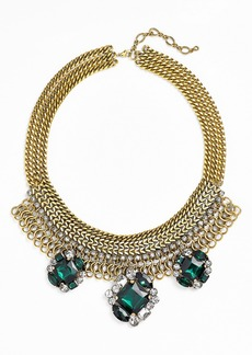 Nordstrom Crystal Cluster Statement Necklace