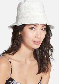 Nordstrom 'Cut & Sew' Woven Bucket Hat