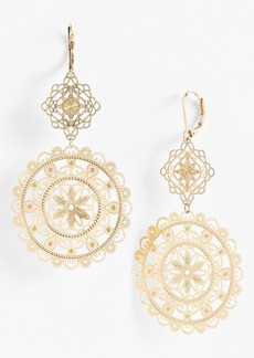 Nordstrom 'Delicate Lace' Double Drop Earrings