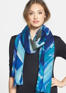 Nordstrom 'Diamond Space' Wool & Cashmere Scarf