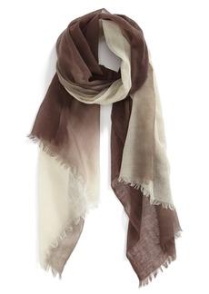 Nordstrom Dip Dye Wool Scarf