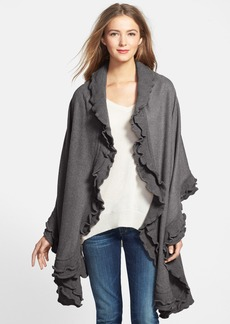 Nordstrom Double Ruffle Wool Wrap
