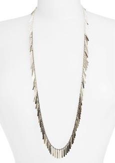 Nordstrom 'Fanfare' Long Fringe Necklace