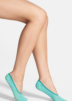 Nordstrom 'Fashion' Tie Dye Stripe Footie Socks