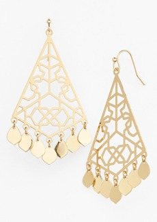 Nordstrom Filigree Geo Drop Earrings