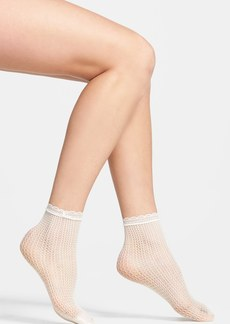 Nordstrom Fishnet Anklet Socks