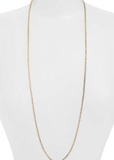 Nordstrom Flat Link Chain Necklace