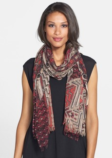 Nordstrom 'Flaunted Mosaic' Wool Scarf