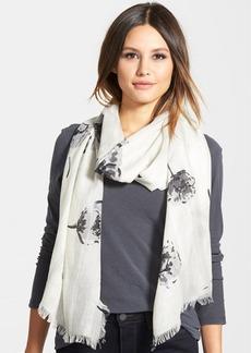 Nordstrom Floral Print Silk & Cashmere Scarf