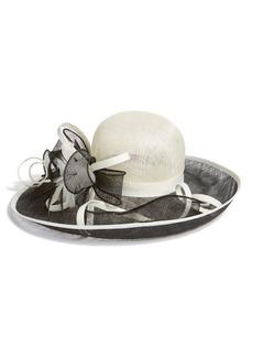 Nordstrom Floral Sinamay Hat