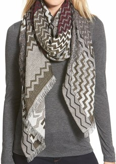 Nordstrom 'Frontier' Jacquard Wrap
