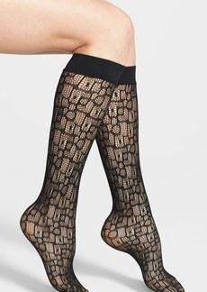 Nordstrom 'Geo Giraffe' Trouser Socks