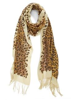 Nordstrom 'Jaguar' Wool & Cashmere Scarf