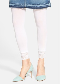 Nordstrom Lace Trim Footless Tights