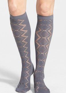 Nordstrom Laser Cut Knee High Socks