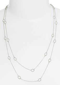 Nordstrom 'Layers of Love' Extra Long Station Necklace