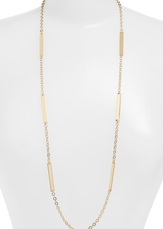 Nordstrom Long Bar Station Necklace