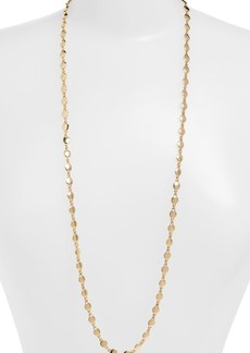 Nordstrom Long Disc Necklace