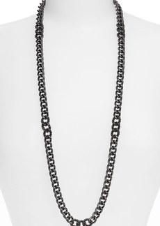 Nordstrom Long Pavé Link Necklace
