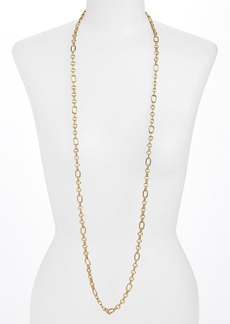 Nordstrom Long Textured Link Necklace