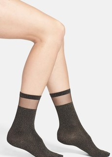Nordstrom Mesh Panel Socks