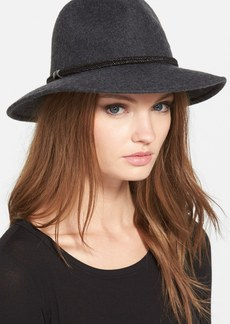 Nordstrom Metallic Trim Panama Hat
