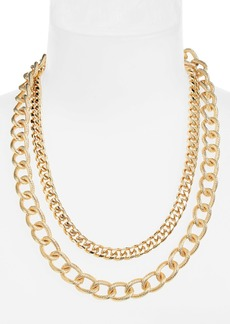 Nordstrom Multistrand Link Necklace