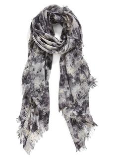 Nordstrom 'Oxidized' Cashmere & Silk Scarf