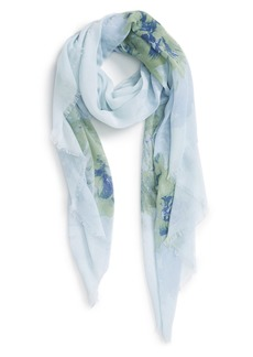 Nordstrom 'Painted Blossoms' Print Scarf