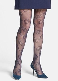 Nordstrom Paisley Crochet Tights