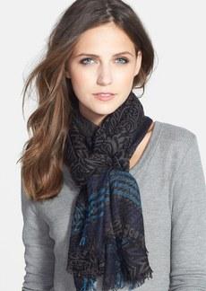 Nordstrom 'Paisley Maven' Wool Blend Scarf