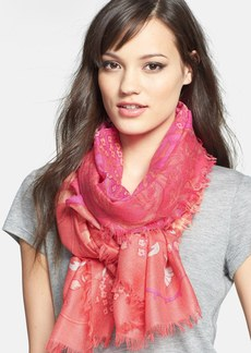 Nordstrom 'Paradise Found' Cashmere & Silk Scarf