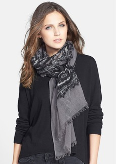 Nordstrom 'Patchwork Paisley' Wool Wrap