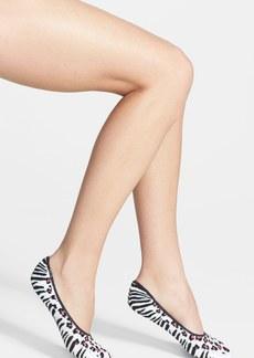 Nordstrom Patterned Cotton Blend Footie Socks