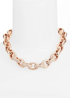 Nordstrom Pavé Link Collar Necklace