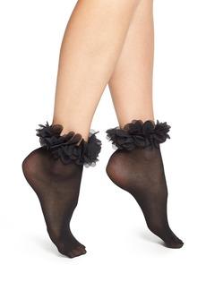 Nordstrom 'Petal' Anklet Socks