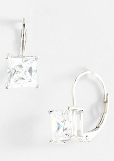 Nordstrom Princess 2ct Cubic Zirconia Drop Earrings