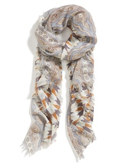 Nordstrom Print Cashmere & Silk Blend Scarf
