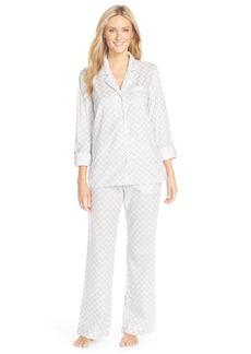 Nordstrom Lingerie Print Cotton Twill Pajamas