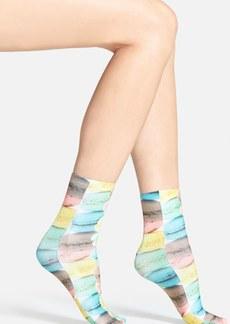 Nordstrom Print Crew Socks