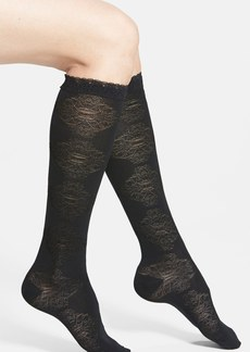 Nordstrom Ruffle Top Knee Socks