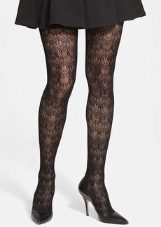Nordstrom Scalloped Net Tights