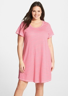 Nordstrom Scoop Neck Nightshirt (Plus Size)