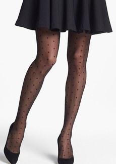 Nordstrom 'Sheer Dot' Control Top Pantyhose (Regular & Plus Size)