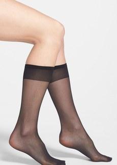 Nordstrom Sheer Knee High Socks (Regular & Plus Size) (3 for $30)