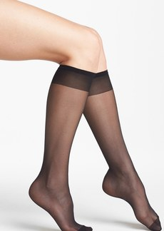 Nordstrom Sheer Knee High Trouser Socks