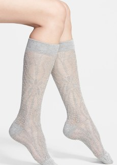 Nordstrom Sheer Knit Knee Socks