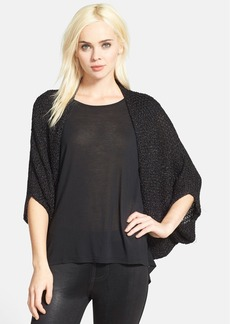 Nordstrom 'Shine' Mesh Knit Shrug
