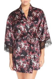 Nordstrom Lingerie Short Silk Robe